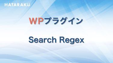 【2020年最新版】Search Regexの使い方・エラー解除を徹底解説!